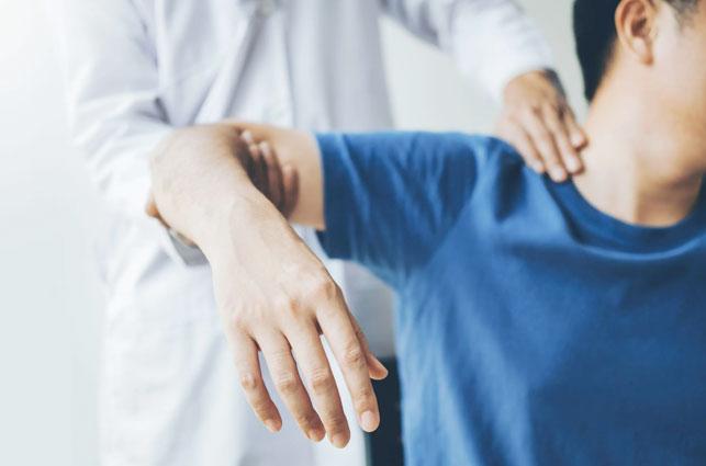 fisioterapia para hombro doloroso